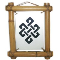 Панно из бамбука