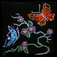 Картины Сваровски Флора и фауна