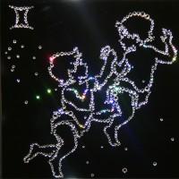 Картины Сваровски - Знак зодиака Близнецы3