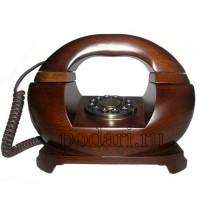 Телефон деревянный