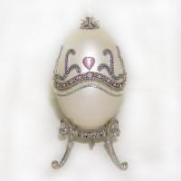 Шкатулка  из гусиного яйца